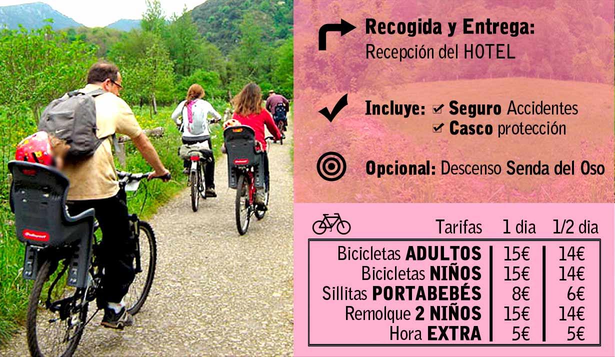 Alquiler de Bicicletas Oviedo Las Caldas Go!