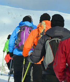 Ruta FÁCIL Raquetas de Nieve