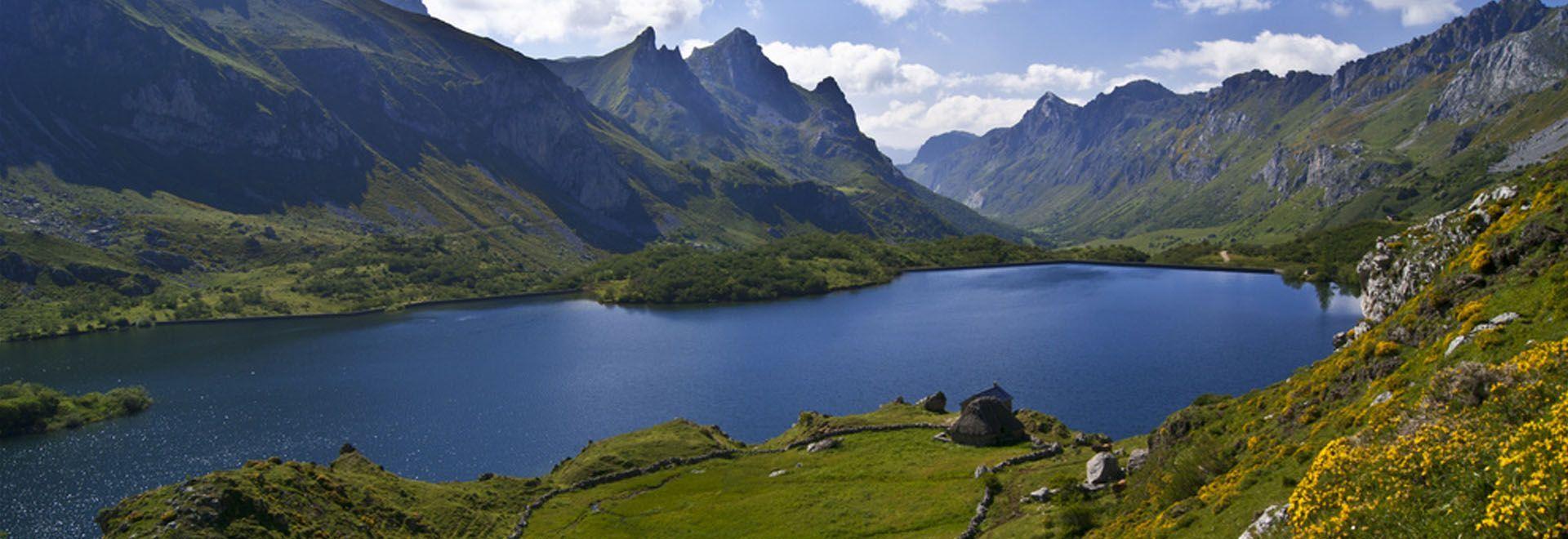 ruta parque natural de somiedo lago del valle asturias