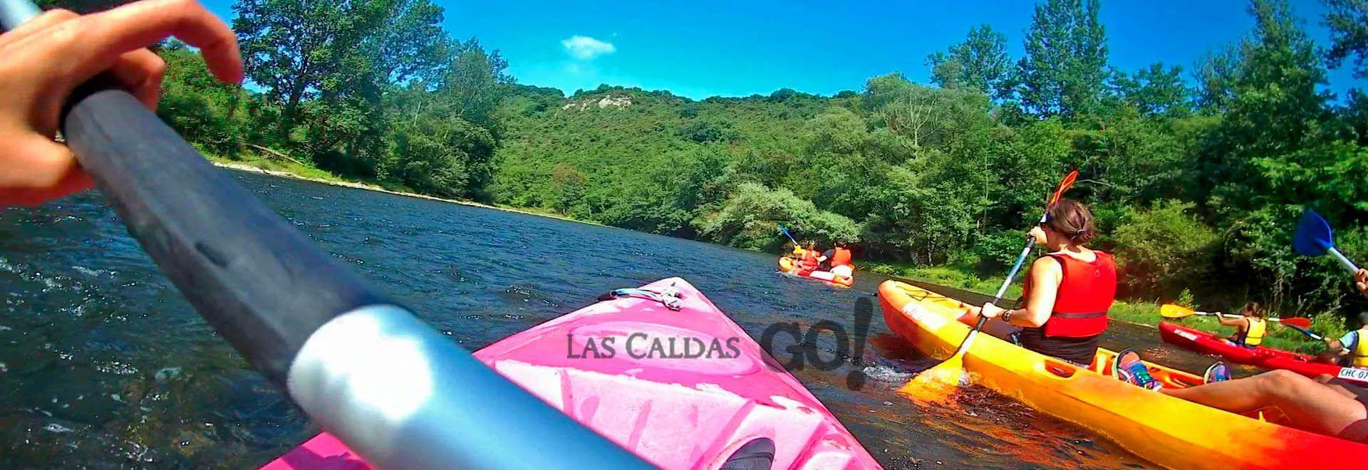descenso canoas nalon