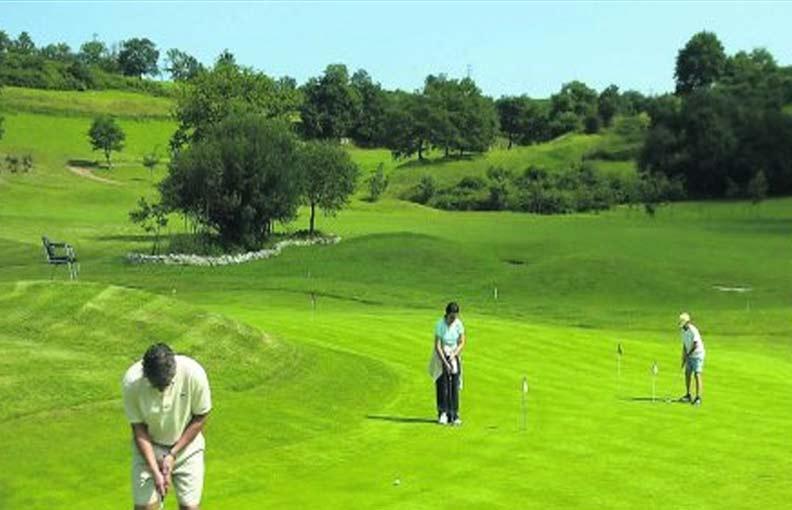 campo golf de Las Caldas